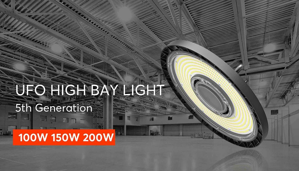 lumière haute baie à led hyperlite