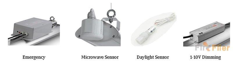 funciones para luz led lineal de gran altura