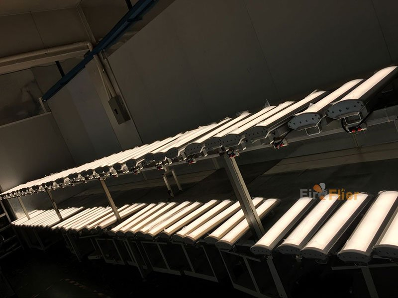pioneer led linear high bay aging test