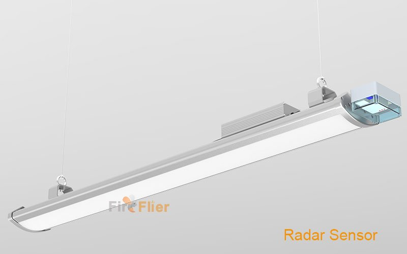 luz LED pionera lineal de gran altura con sensor