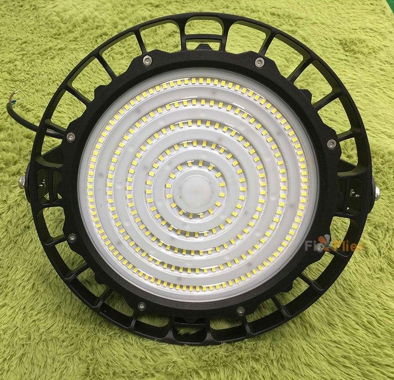 Ripple UFO LED High Bay Light 80W 100W avec objectif