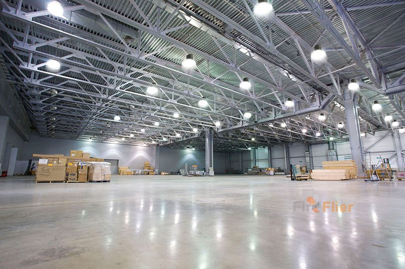 led highbay light application with pc reflector