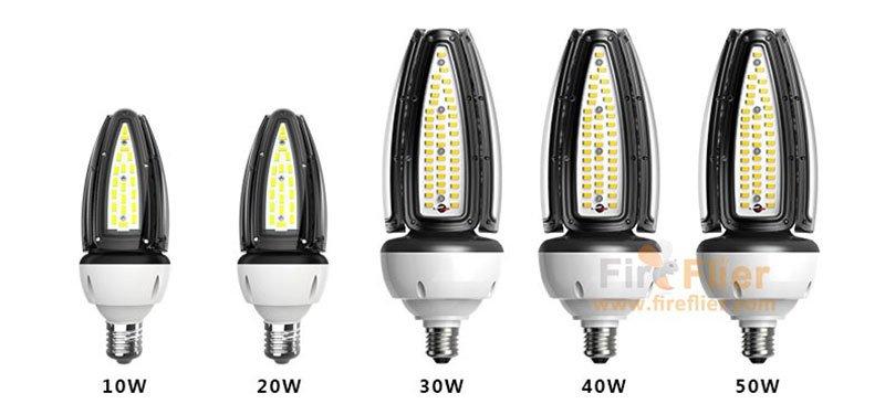 Bulbo de maíz LED de 10W a 50w IP65