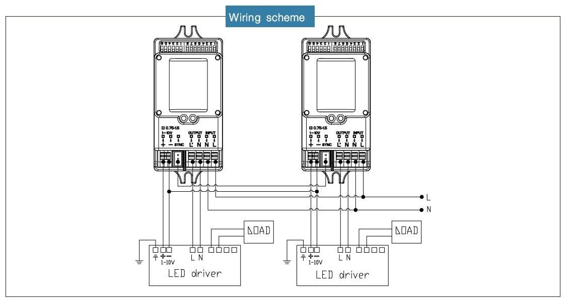 cableado del sensor de atenuación