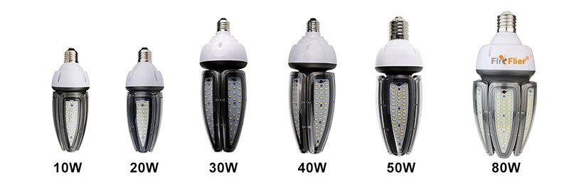 Bombilla de maíz LED serie impermeable