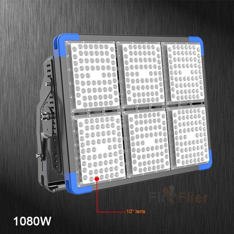 Luz LED para gimnasio 1080W