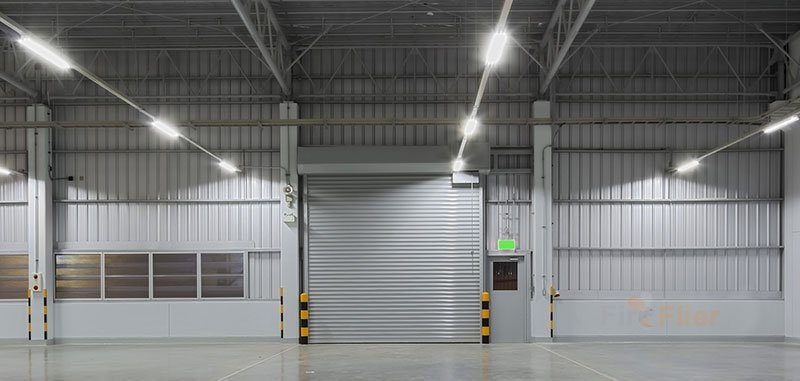 Luminaire LED pour garage