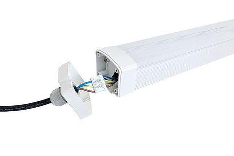 Luminaria LED estanca al vapor 2 pies