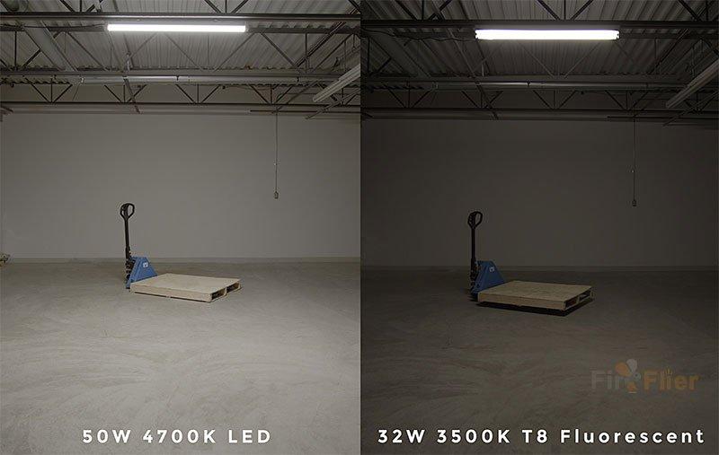 Aplicación de luz LED Tri-proof