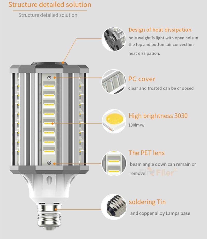 Nachrüsten der LED-Glühlampe nach oben