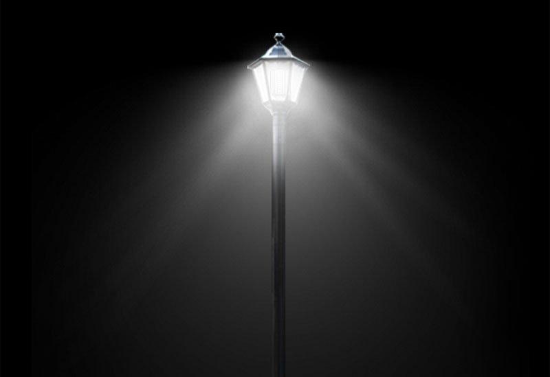 Post-Top-LED-Lampenanwendung
