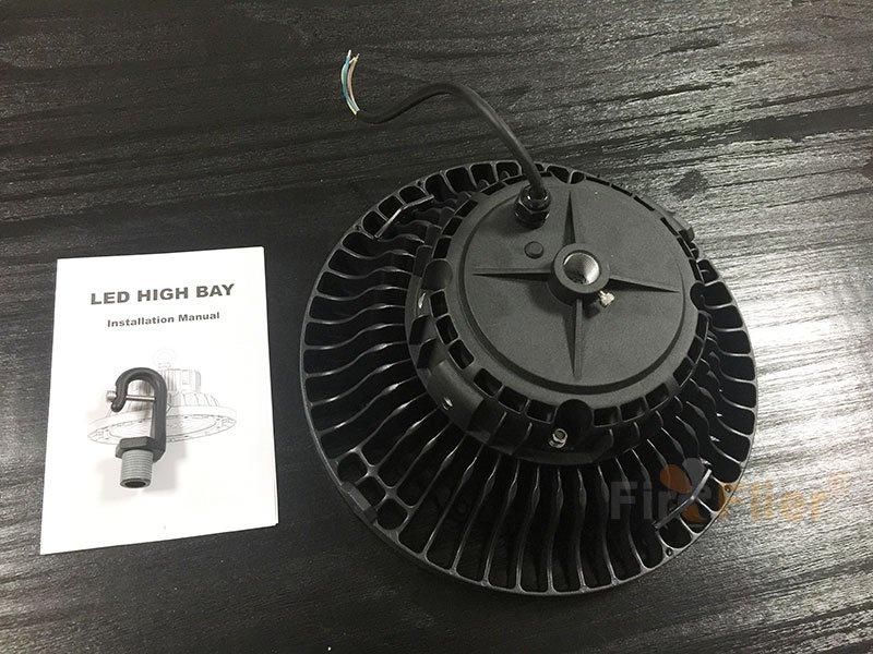 Manual de luces UFO LED High Bay