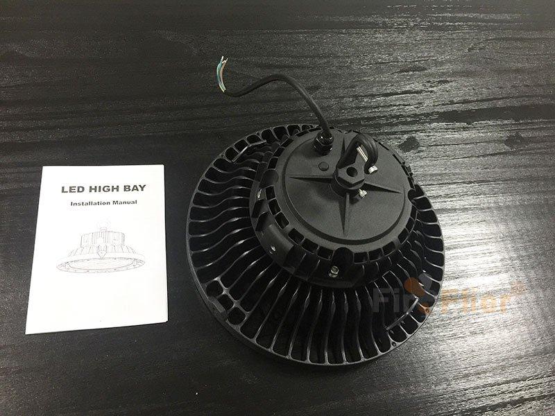 Manual de lámpara LED UFO High Bay