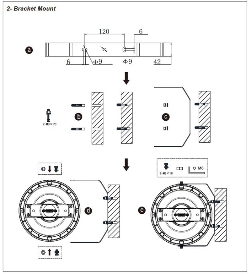 Halterungshalterung LED Hochregallager FHB