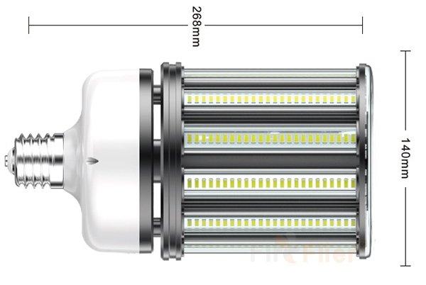 Ampoule de maïs LED non scintillante 120W