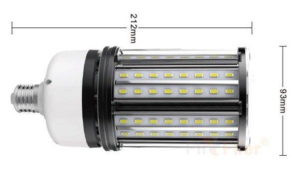Ampoule de maïs LED non scintillante taille 27W