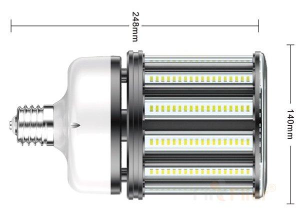 Bombilla de maíz LED sin parpadeo Tamaño 80W