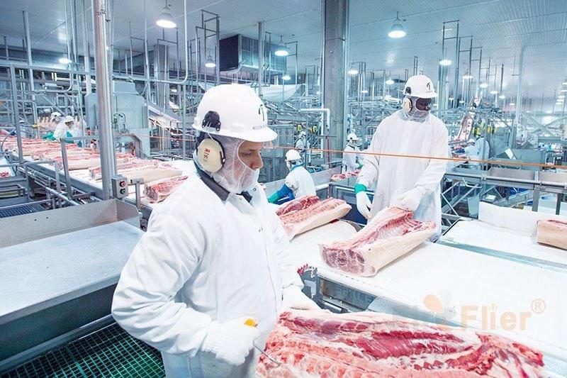 Hochregallampen für die Lebensmittelverarbeitung