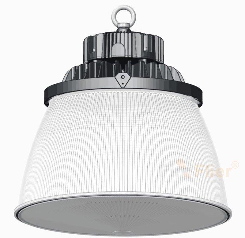 Cloche LED avec diffuseur PC