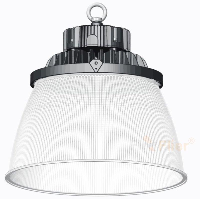 Diffuseur industriel léger en polycarbonate LED