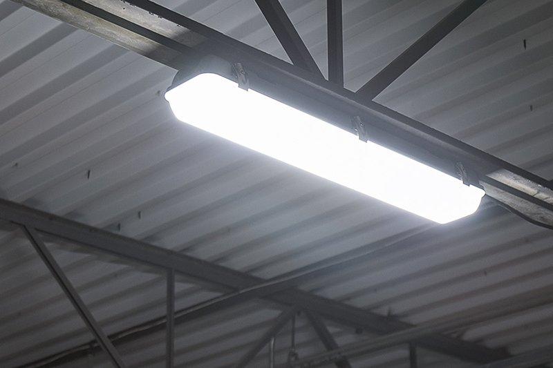 تطبيق ضوء محكم بخار البولي كربونات