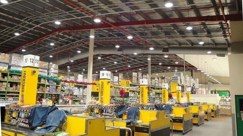 application of LED Warehouse Light 100W