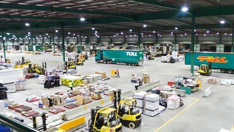 luz de almacén logístico 150W