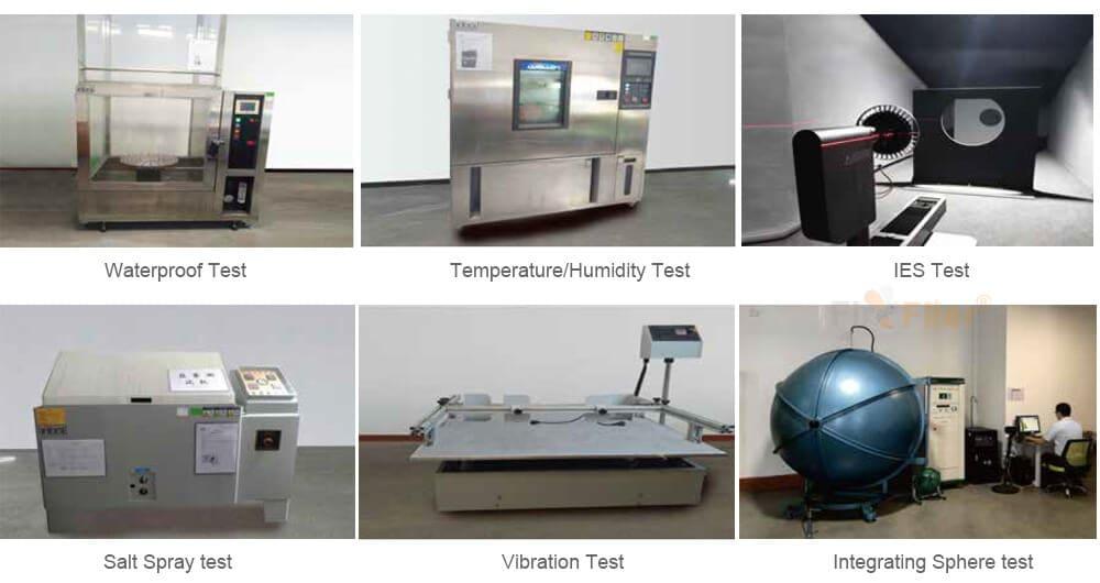 kõrge lahe testimisseadmed