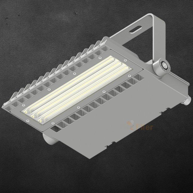 Proyector LED asimétrico