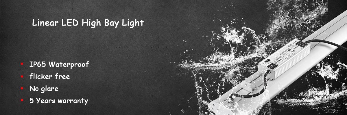 Bannière lumineuse linéaire haute baie Angel LED