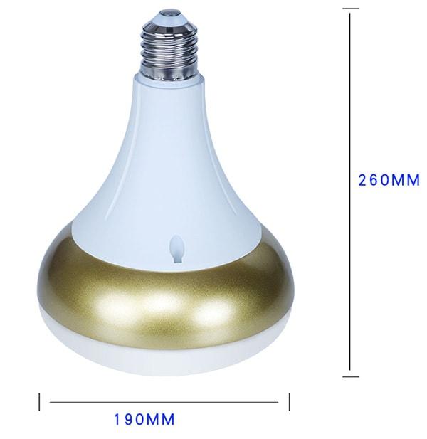 E40 LED-Lampe 72W Größe