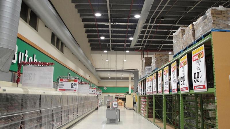 LED warehouse light application