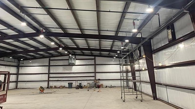 100W LED High Bay Fixture for workshop