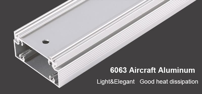 6063 Dreifaches Aluminiumflugzeuglicht
