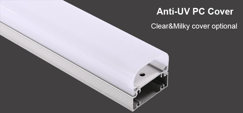 klare und milchige Abdeckung Dampfdichte LED-Leuchte