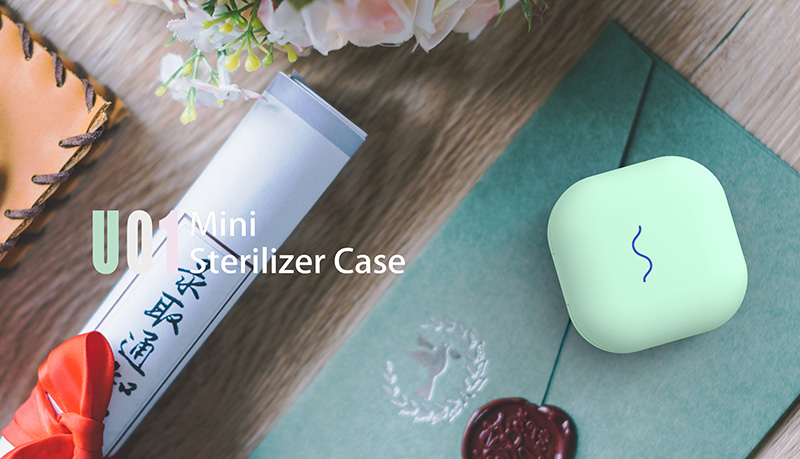 grüne Farbe UVC Sterilisator Box