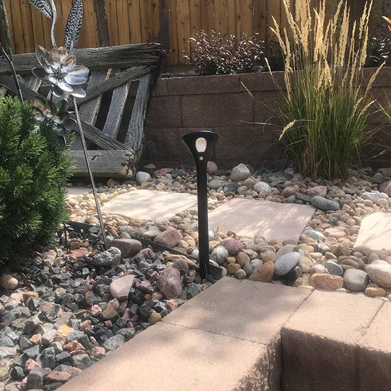 lumière de voie solaire pour route de jardin