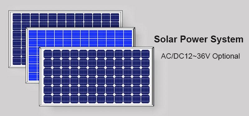 Solarenergie LED dampfdichtes Licht