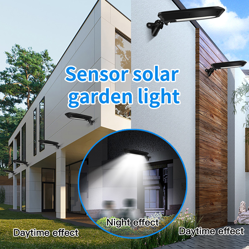Sensor Garten Wandleuchte