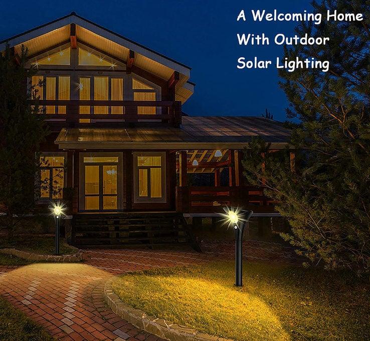 Solarbeleuchtung im Freien