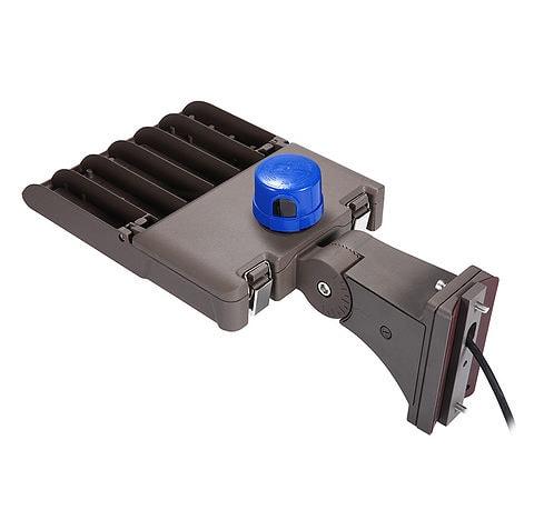 مصباح LED لوقوف السيارات 150 وات مع مستشعر الخلية الكهروضوئية