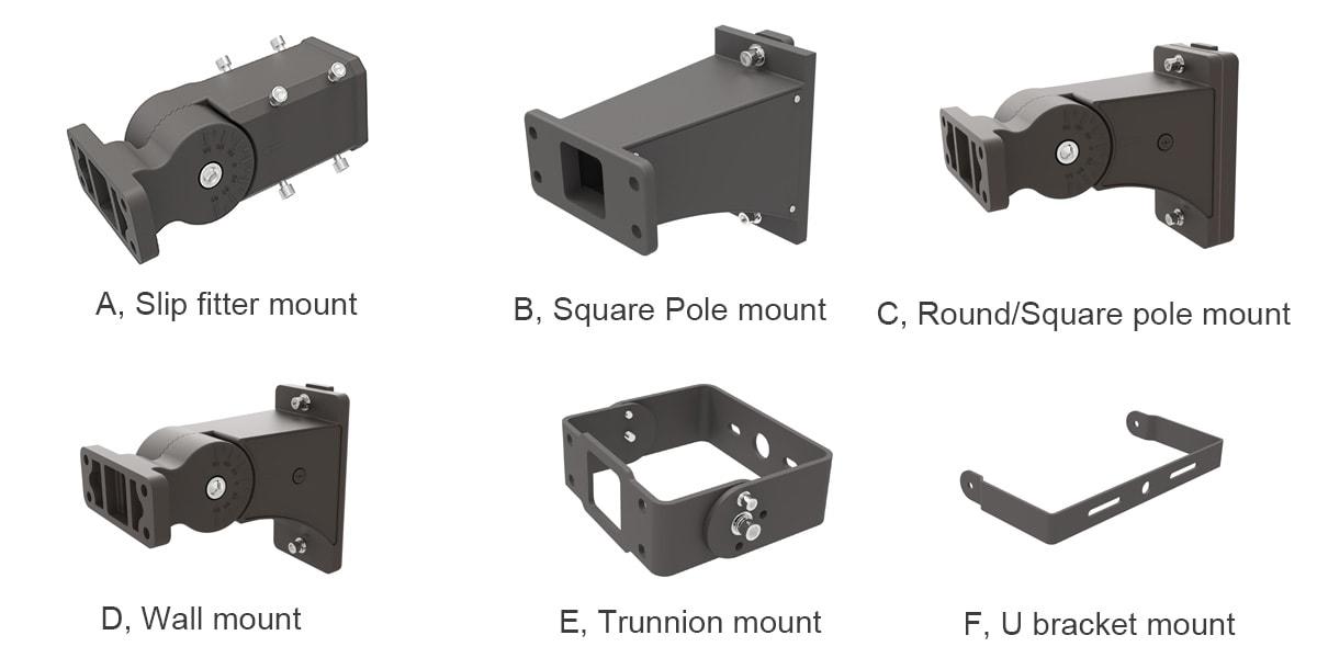 accesorios de luz de área LED