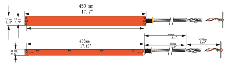 15W 20W النسخ الاحتياطي للطوارئ للضوء لوحة