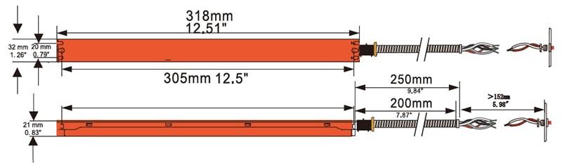 6W 8W النسخ الاحتياطي للطوارئ للضوء لوحة
