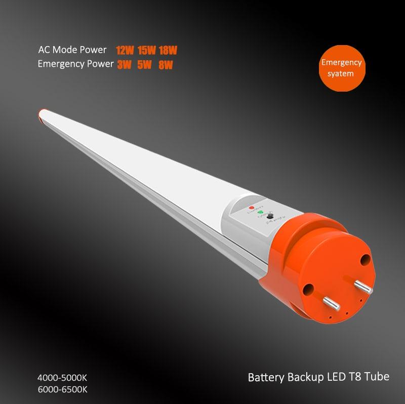 Batterie-Backup-LED-Röhre 18W