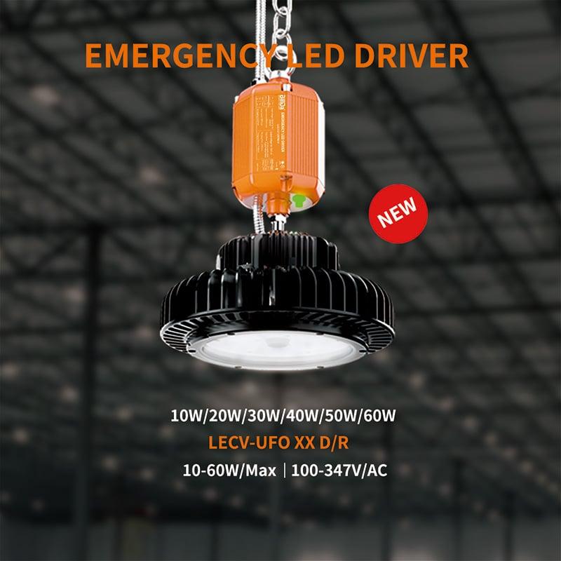 Not-LED-Hochregallampe