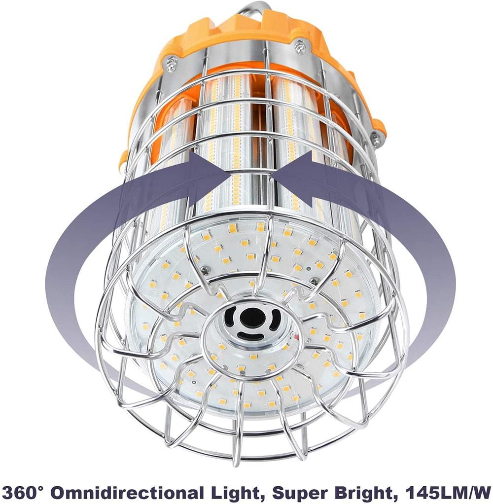 Lampes de travail temporaires 100w