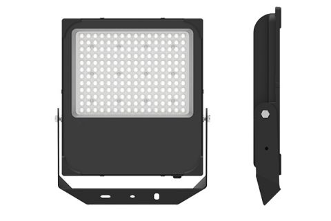 صورة جانبية لمصابيح LED للفيضانات