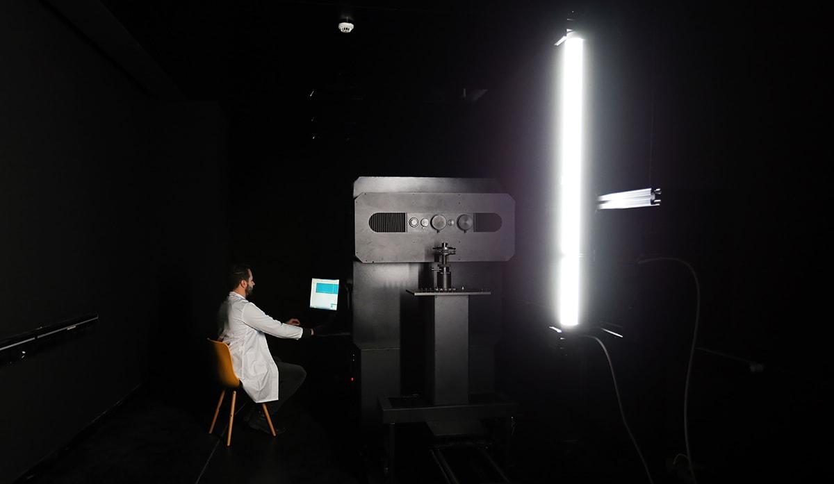 test de sécurité photobiologique