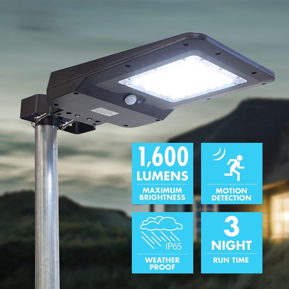Prix de lampadaire solaire 15 watts
